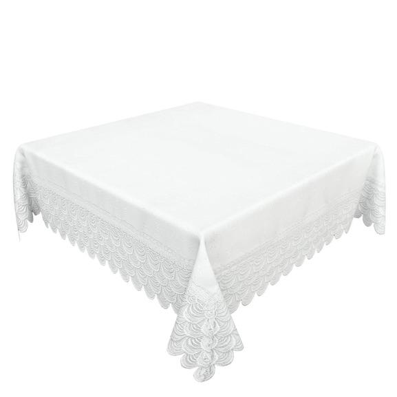 Obrus Premium biały prostokąt 140/150-260